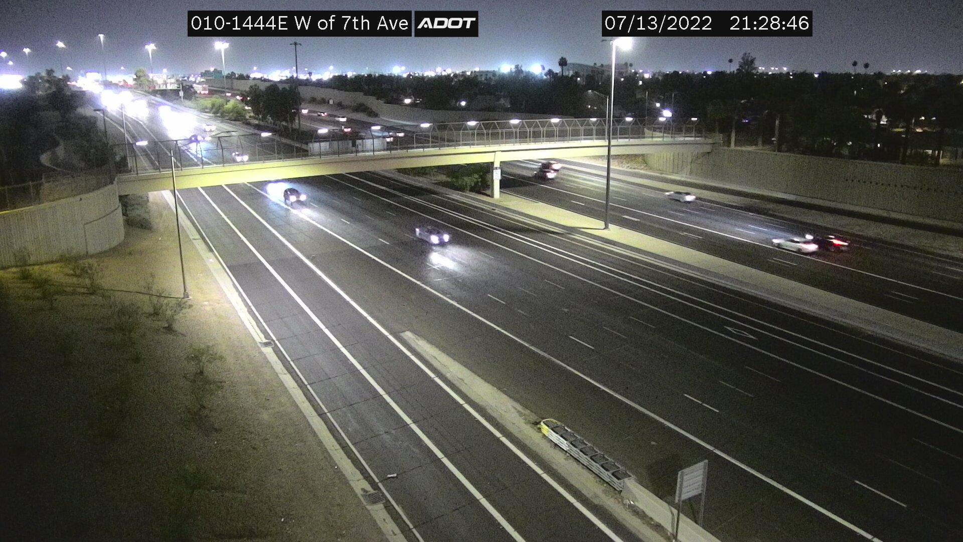 I-10 West of 7th Avenue
