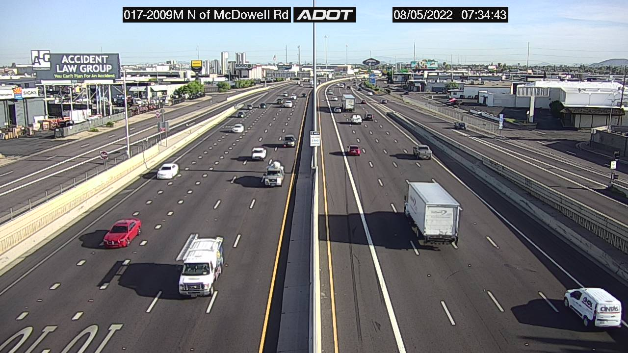 I-17 N of McDowell Road
