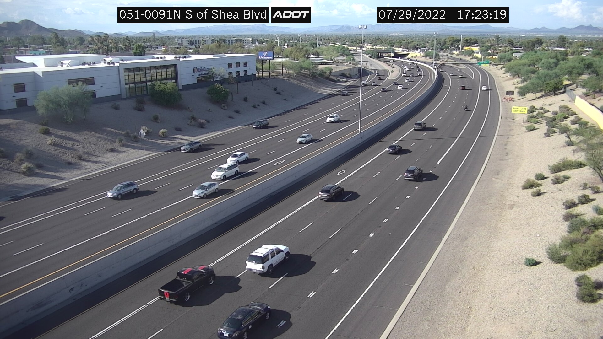 SR51 - South of Shea Blvd