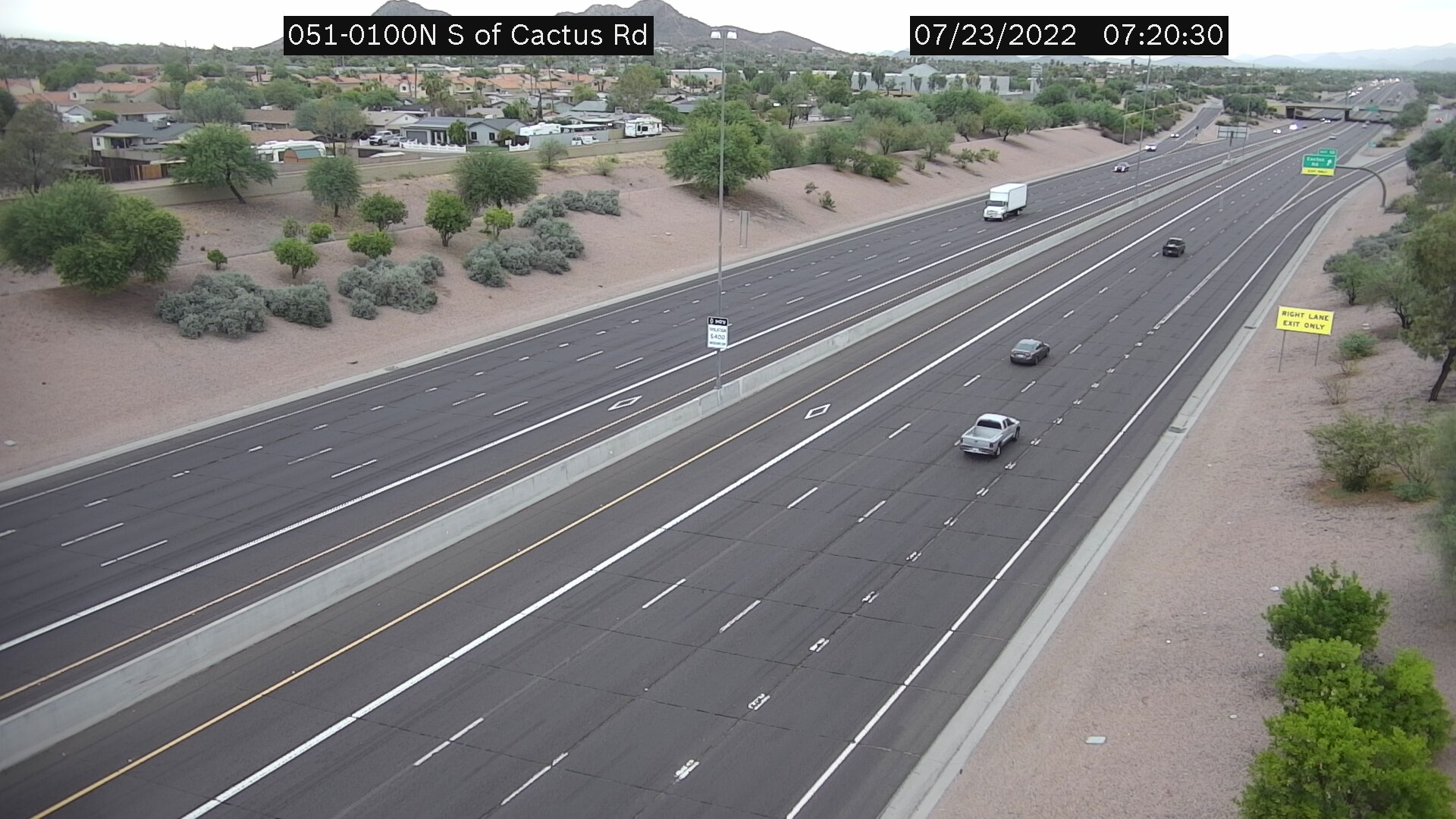 SR51 - South of Cactus Road