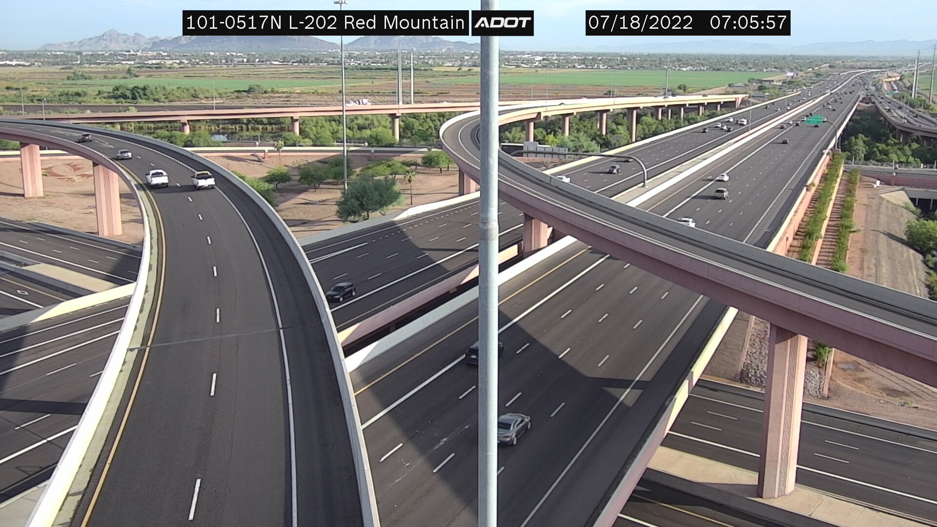 click to enlarge - L101/L202 Red Mtn Fwy Interchange, Mesa Arizona